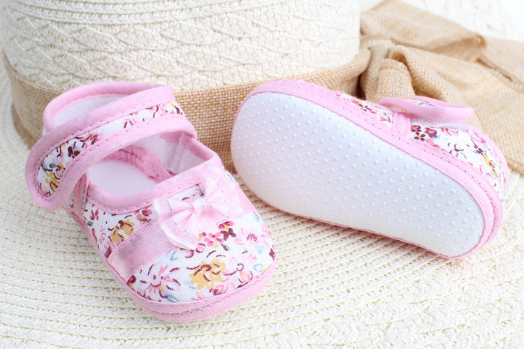 Baby-Girls-Toddler-Bow-Flower-Shoes-Spring-Autumn-Footwear-First-Walkers-3-Colors-2