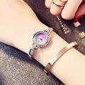 Mulheres Marca Kimio Relógio Senhoras Do Coração de Aço Inoxidável Casual Relógios de Pulso Estudante Relógios Relojes Mujer Montre Femme Montre
