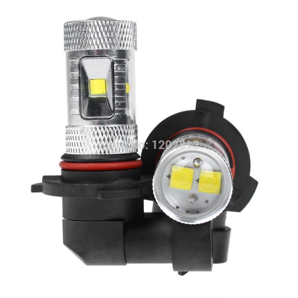 H10 Light Bulb: 2X30W Super Bright WHITE 9005 9055 9140 H10 Projection DRL Driving Fog Lamp Light  Bulb For,Lighting