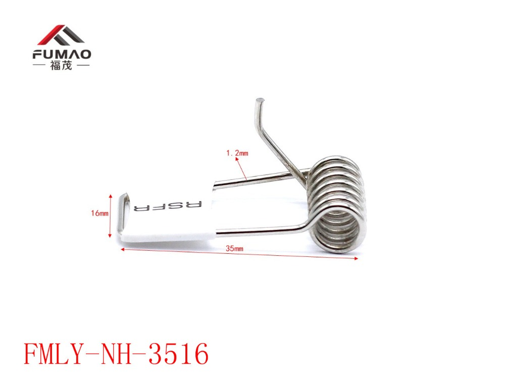 Купить с кэшбэком Manufacture supply downlight flat metal springs clip for LED light hardware
