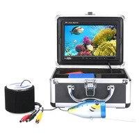 20 м 30 М HD 1000TVL профессиональная подводная рыболовная камера 7 дюймов рыболокатор hd видеорегистратор водонепроницаемый рыболовный видео 12 ИК