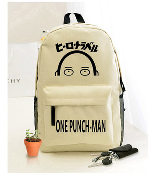 Anime ONE PUNCH-MAN Cosplay  cartoon shoulder bag male and female students travel leisure large capacity backpack 1