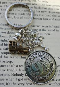 Брелок для ключей HP Hogwarts express, 12 шт./лот