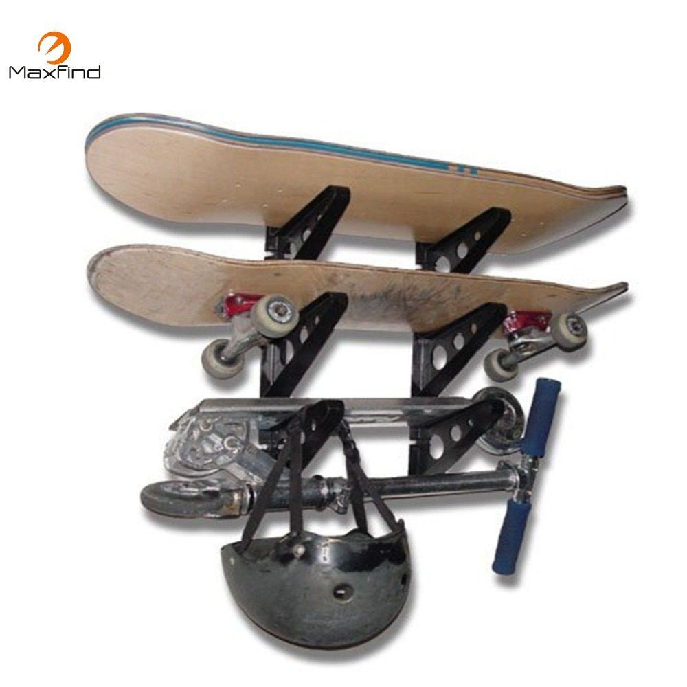 MAXFIND Hohe Qualität Skateboard Wand Montieren Aufhänger Rack Lagerung  Clip Fit Alle Größe Skateboard