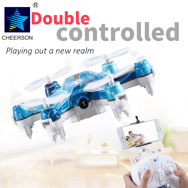 Cheerson CX-37 CX-37-TX Smart-H Remote Control RC Drone Helicopter With Camera WiFi FPV Phone App Control Quadcopter cheerson cx30w cx 30w fpv wifi smart remote control drone led rc helicopter quadcopter aircraft air plane toy kids gift toys