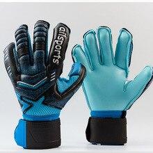 Профессиональный Футбольный голкиперский Glvoes латексная защита пальцев