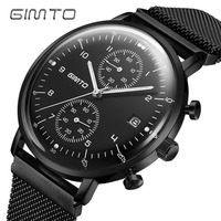 Creative Brand Men Watch Steel Luxury Quartz Business Wristwatch Waterproof Clock Military Sport Male Watches Relogio