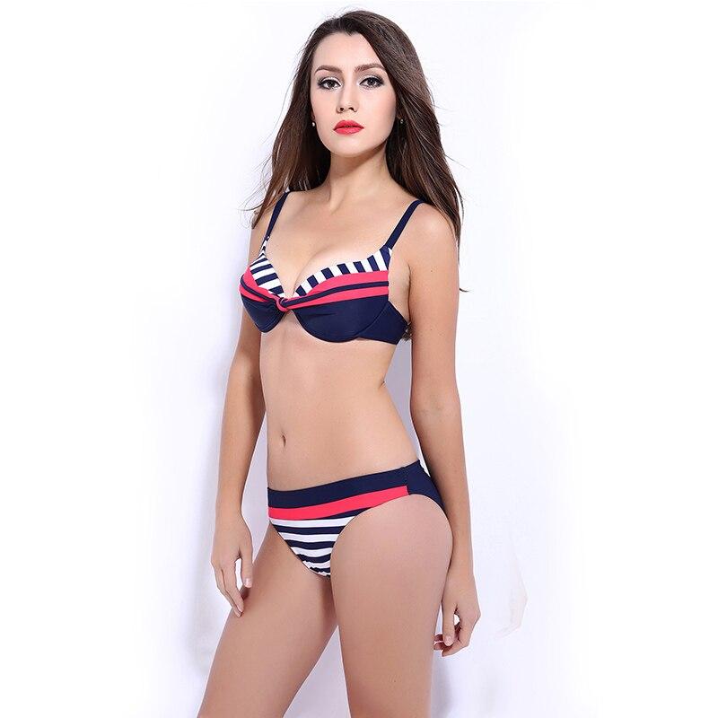 Yeni Qadınlar Bikini Yay 2016 Seksual Mayo Üzmə Geyimi Qadın - İdman geyimləri və aksesuarları - Fotoqrafiya 4