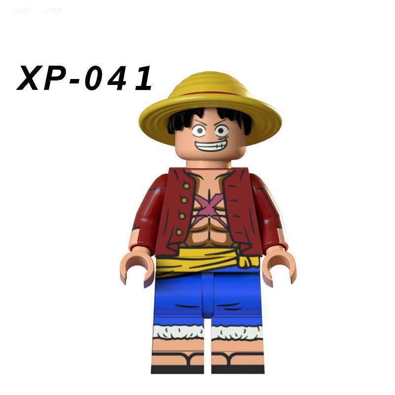 Single Sale Compatible LegoINGlys Cartoon Miove ONE PIECE Robin SBuccaneer Action Figures Bricks Building Blocks Toys Boys Gift