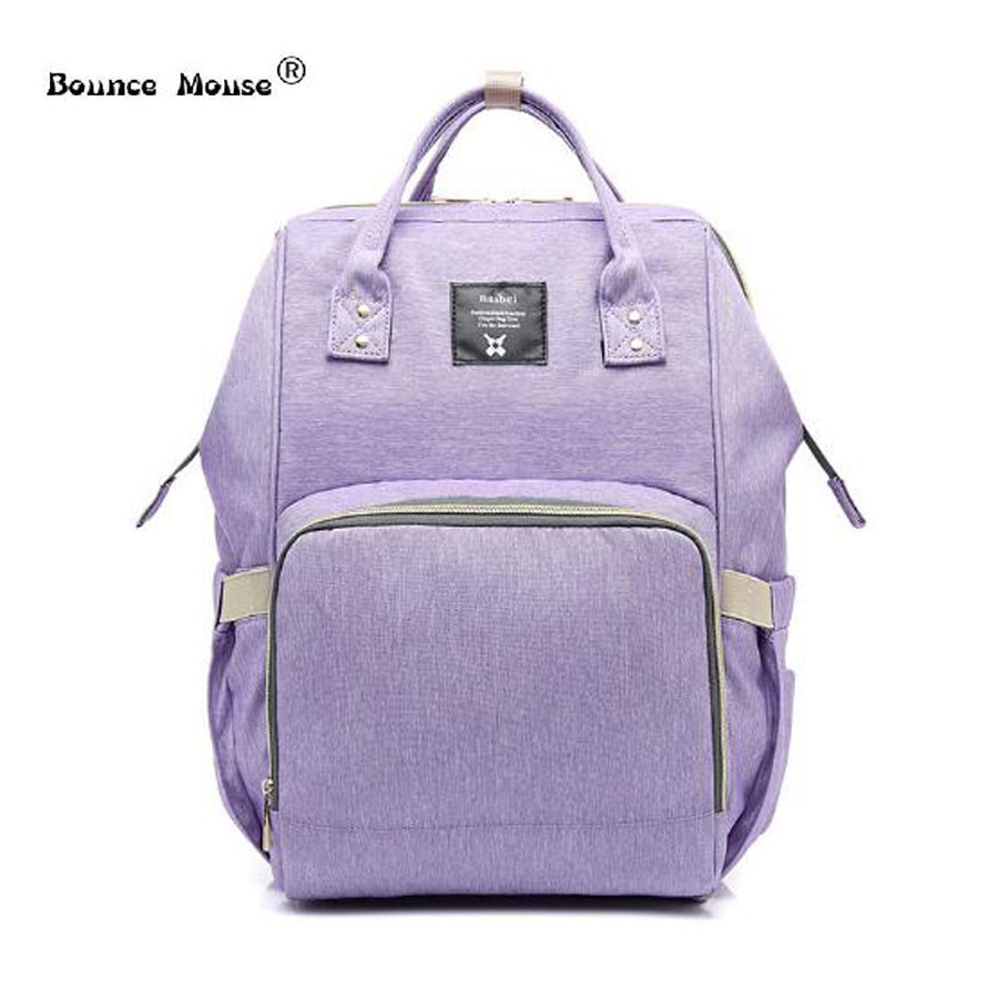 Fashion Mummy Maternity Nappy Bag Brand Large Capacity Baby Bag Travel Backpack Designer Nursing Bag for Baby Care monther bags idore baby diapers l 60pcs disposable nappies ultra thin large absorb capacity breathable 6dtex non woven fabric infant nappy