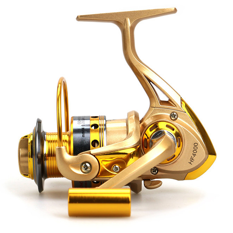 10 Bearing Fishing Reel/Front Drag Spinning Wheel Carp Fishing Tackle Metal Material Hot Sale HF1000~7000