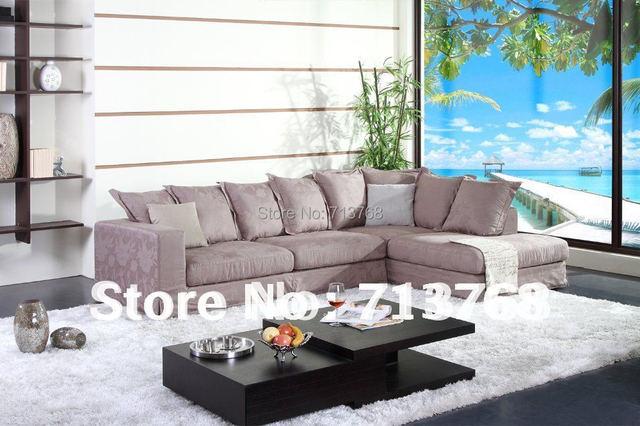 100 coton lavable tissu moderne meubles canap salon en tissu coupe canap dangle mcno9051 - Salon Moderne Entissu