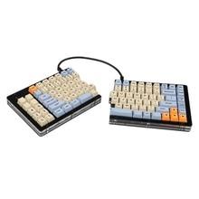 Carcasa de acrílico Split 75% SP84, base de placa RGB totalmente programable, estabilizadores de PCB ANSI ISO, Kit de bricolaje Similar al diseño VEA