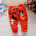 High quality baby casual pants 100% cotton 1 piece baby Harem pants Cartoon Mickey baby boy / girls pants Brand Children clothes