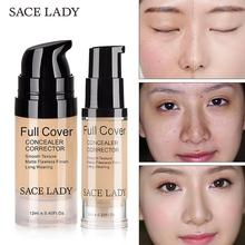 SACE LADY Face Concealer Cream Full Cover Makeup Contouring Liquid Facial Corrector Professional Waterproof Base Contour Make Up