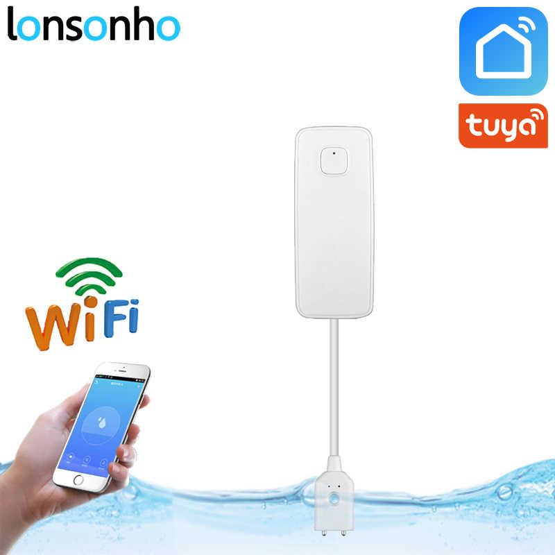 Lonsonho Wifi 水センサー漏水検知器水位漏れセンサーアラームスマートハウス IFTTT で動作