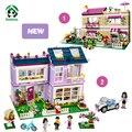 New Super Gran 765 unid Bella Building Blocks Set Compatible con ladrillos lego friends series diy casa de juguetes modelo de coche para niñas