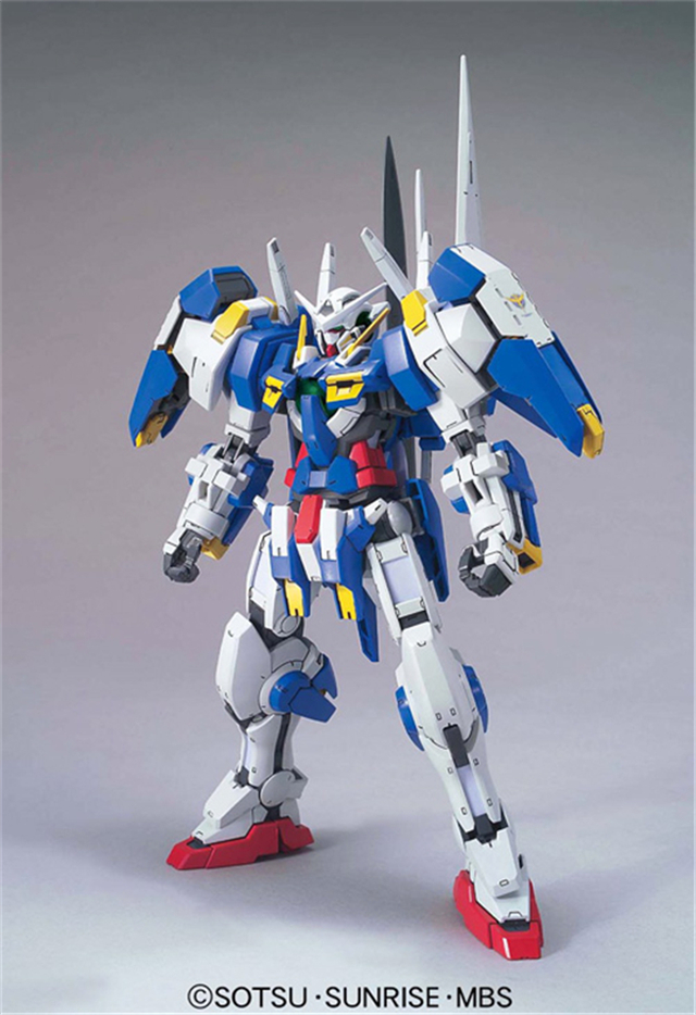 ФОТО 100% genuine bandai model hot selling 1/100 /hs-a01 tv 09 gn-001 avalanche exia gundam oo assembled gundam model robot gunpla