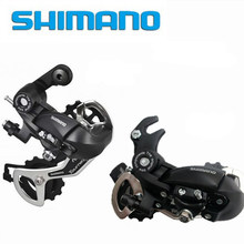 SHIMANO Original Tourney RD TX35 rear derailleurs bicycle parts mtb mountain rear derailleur fit for 6 7 8 speeds(China)