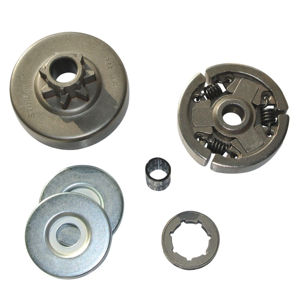 ФОТО ClUTCH W/ DRUM CLUTCH WASHER RIM SPROCKET KIT FIT STIHL MS381 MS380 038 CHAINSAW