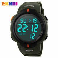 2019 neue Sport Uhren Männer Schock Widerstehen Armee Military Watch LED Digital Uhr Uhren Männer Armbanduhren Relogio Masculino Skmei