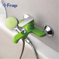 Hot Selling Frap Bathroom Single Holder Dual Control Shower Faucet Single Handle Wall Mounted Shower Faucet