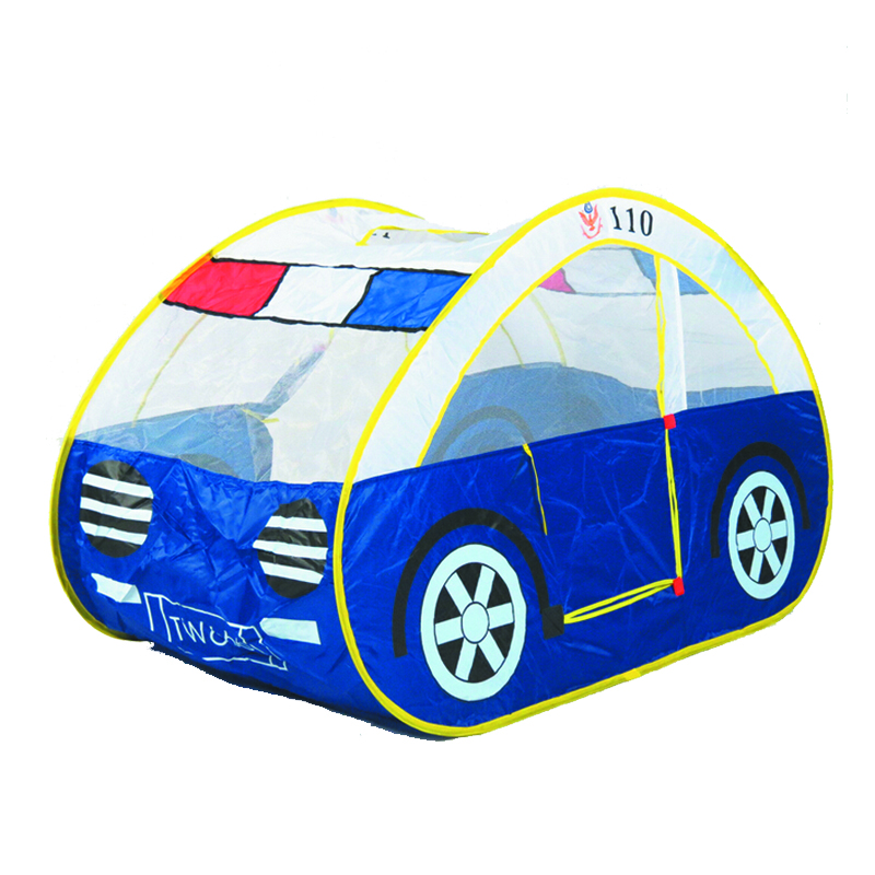 2016 hot sale high quality child kids play police tent car toy tent large game house