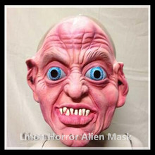 Horror Demons Head Devour Rubber Mask Scary Monster Latex Masks Adults Full Face Masquerade Halloween Party Costume FreeShipping