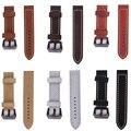 1 PCS 20mm 22mm 24mm 26mm Fosco Feito À Mão pulseira de Relógio pulseira de Couro Genuíno Marrom Preto Vermelho relógio de pulso Banda Preto Fivela