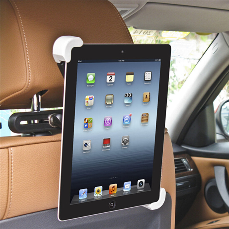 Universal Tablet PC Holder 360 Rotating Car Back Seat Headrest Mount Holder Stand for iPad 2 3 4 Air 2 Samsung Lenovo Tablets