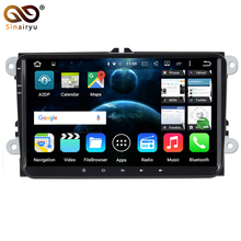 2 Din 9″ Android 7.1 Quad Core Car DVD Player Radio for vw Volkswagen Golf Plus Passat CC Touran Tiguan Sharan Skoda Seat