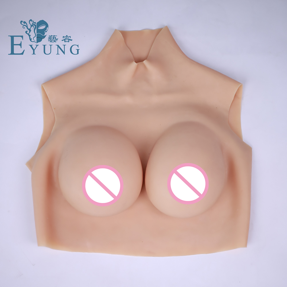 75D cup full silicone breast form for crossdresser Mastectomy woman Artificial boobs Breast enhancer shemale Trandsgender tit