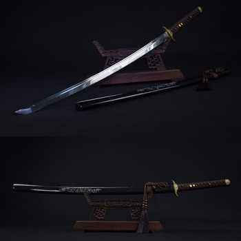 Handmade Japanese Samurai Sword 1060 high Carbon Steel Real Katana Sharp Edge Vintage Style