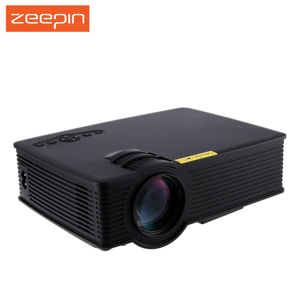 Prix pour Zeepin GP-9 Mini Projecteur Home Cinéma Théâtre HD LCD Led Projetor USB 2000 Lumens 1920X1080 Pixels Micro PiCo Enseignement Beamer