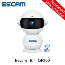 Escam Эльф QF200 WIFI Ip-камера HD 960 P 1.3MP Крытый Инфракрасного День/Ночного Видения 360 Градусов Вращения Сигнализация Беспроводная Камера безопасности
