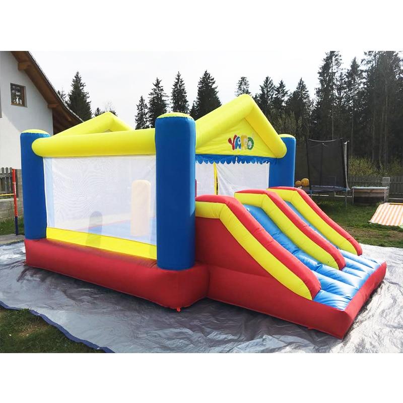 YARD Big Inflatable Bounce House Doppelseiten 5 x 4 x 2,7 m - Outdoor-Spaß und Sport - Foto 3