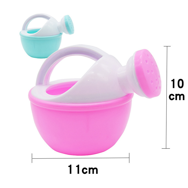 1PCS Baby Bath Toy Colorful Plastic Watering Can Watering Pot Beach Toy Play Sand Shower Bath Toy for children Kids Gift 5
