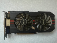 Used Original ASUS GTX650TI GPU Graphics Card 2GB GDDR5 128BIT VGA Card Gaming Stronger Than GT630