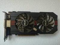 Used Original ASUS GTX650TI GPU Graphics Card 2GB GDDR5 128BIT VGA Card Gaming Stronger Than GT630