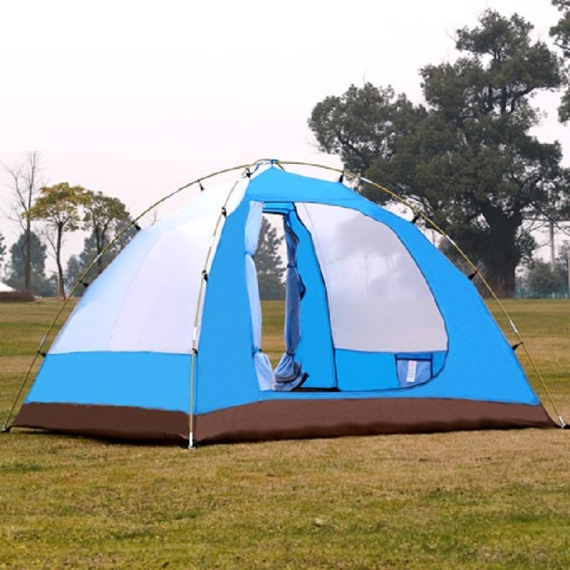 Image 5 - Samcamel 3 4 Person Large Family Tent Camping Tent Sun Shelter Gazebo Beach Tent Tente Camping Awning Advertising/exhibition-in Tents from Sports & Entertainment