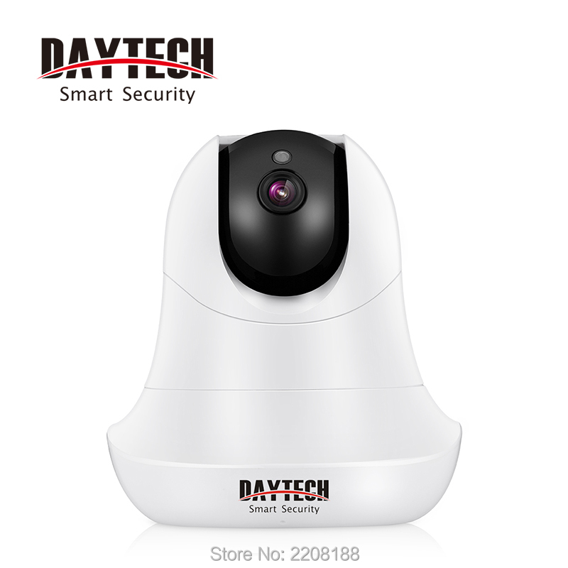 DAYTECH WiFi IP Camera Home Wireless Surveillance Camera Night Vision Network Baby Monitor Indoor Two Way Audio 720P HD CCTV ip 720p hd network wifi wireless pan tilt two way audio ir night vision network sd tf card home baby monitor indoor camera