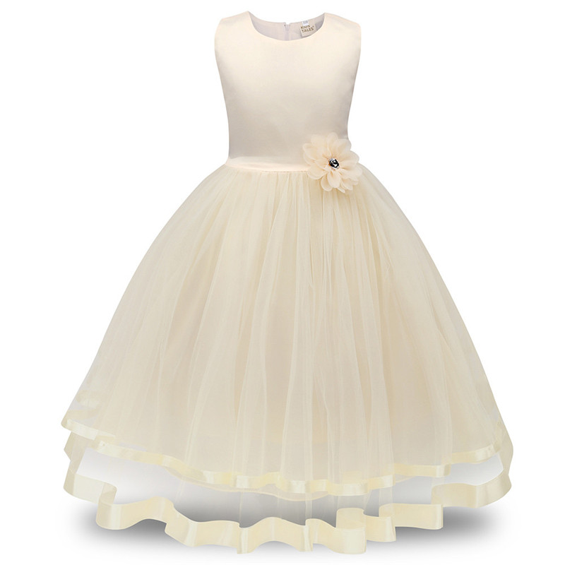 2018 ARLONEET Flower Girl Princess Bridesmaid Pageant Tutu Tulle Gown Party Wedding Dress Kids Dresses For Girls layered girls tutu dress princess wedding bridesmaid flower girl dresses baby kids birthday party pageant graduation tulle dress