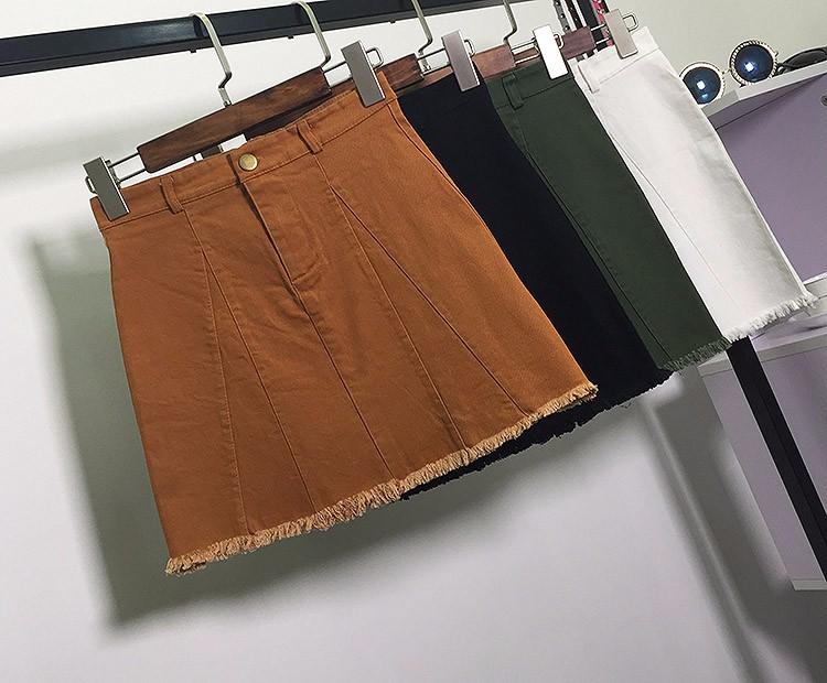 HTB1OCV5OVXXXXXUXpXXq6xXFXXXx - American Apparel button Denim Skirt JKP265