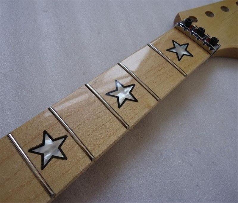 disado 22 Frets inlay star maple Elektrische gitaarhals - Muziekinstrumenten - Foto 2
