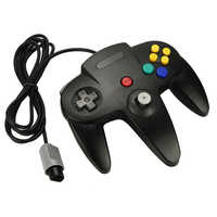 Joystick do gamepad do controlador do jogo com fio de ostent para jogos de vídeo do console de nintendo 64 n64