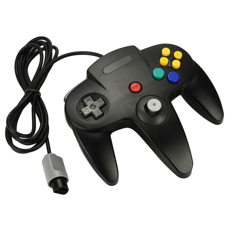 OSTENT Wired Game Controller Gamepad Joystick for Nintendo 64 N64 Console Video Games