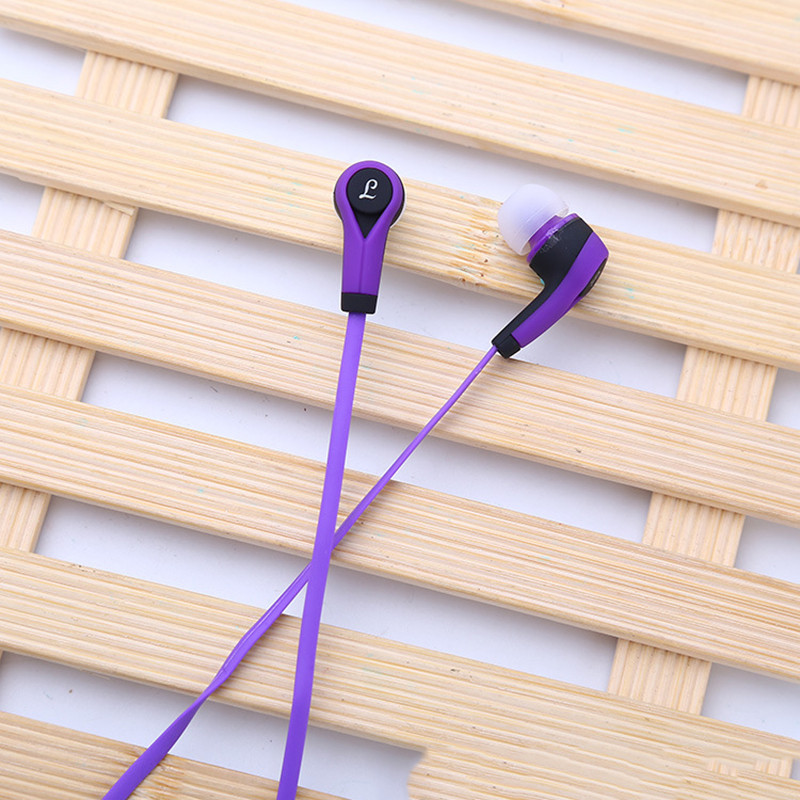 Uniserval New Earphone In Ear Wired Earphone with Mic for Pad Pc Sport Earphone Stereo Colorful Earphone Wired Bass for Phone