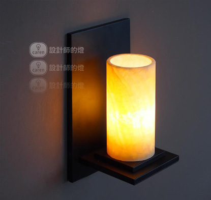 Classical elements marble wall light wall sconces lighting vintage wall lamp contains led bulbs free shipping