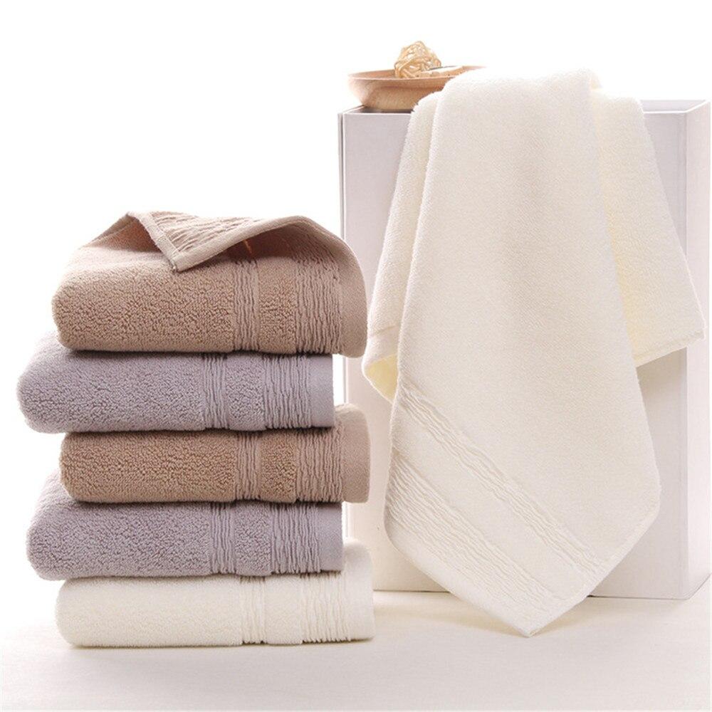Wholesale 10pcs 34*75cm Cotton Face Towel Thicken Custom
