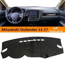 2013-2017new chegada da movimentação da mão esquerda estilo clássico tampa do painel do carro para MITSUBISHI Outlander pad sunproof para MITSUBISHI
